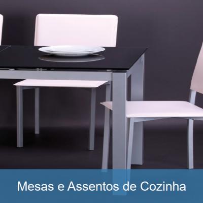 Mesas e Assentos de Cozinha